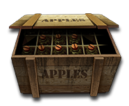 Crate with grenades